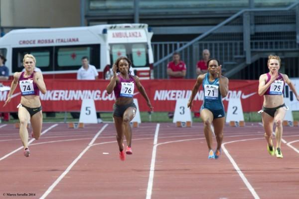 100m Women 1